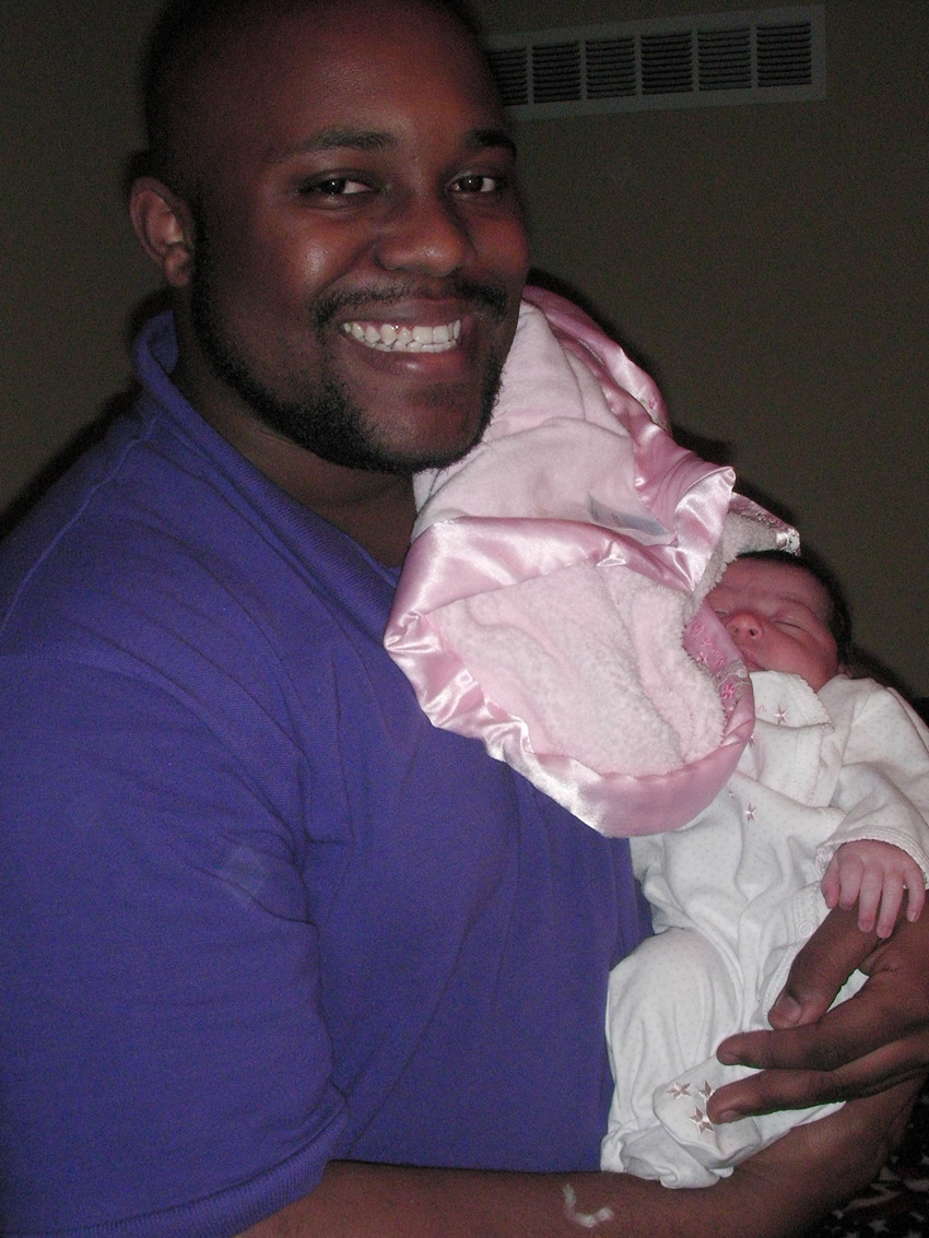 Omar looks like a proud uncle :-)