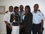 Omar, Rashida, Daddy, me and Jamaal at the Repass