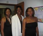 My cousins: Denise, Lynda and Porsche