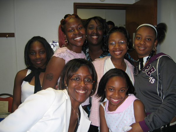 China, Seandra, Kimyatta, Kina, Shanae, Lynda and Deprise