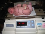 My big newborn ~ 8 lbs 11 ounces