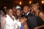 Momma, me, Rashida, Deprise, Omar and Lynda