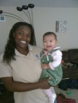 Mommy and Akilah (7 months)