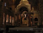 Inside the Cathedral Basilica of Saint Louis