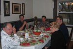 Sitting down for Christmas lunch/dinner