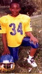 Omar in Pee Wee football