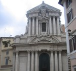 Church near Trevi Fountain