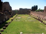 Ruins of Palatine Palace