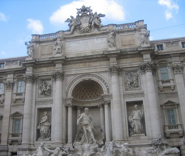 Trevi Fountain (Fontana di Trevi) in Rome