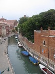 View Outside our Hotel Room in Venice