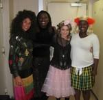 Gloria Estafan, Aretha Franklin, Madonna and Britney Spears