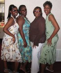 Rashida, me, Momma and Lynda