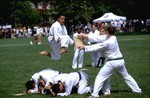 Kenny Huang at Quad Day, 2000